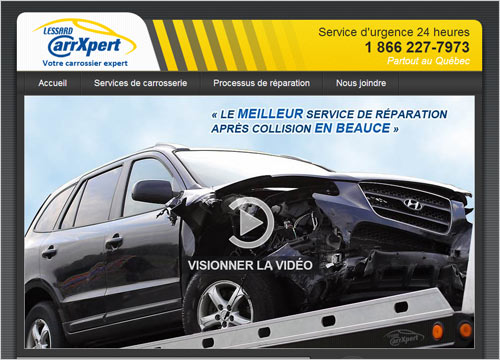 Site Internet - Lessard CarrXpert